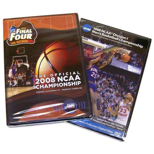 - Kansas Jayhawks 1988 & 2008 Basketball National Championship (Two-Pack)