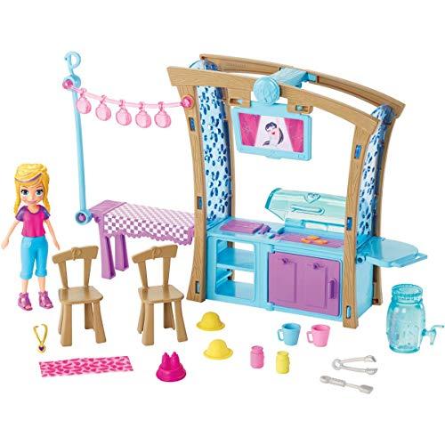 Polly Pocket! Churrasco Divertido Gdm17 Mattel Colorido