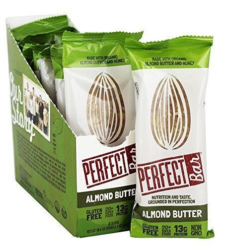 (PERFECT FOODS Organic Almond Butter Bar, 2.3 OZ)