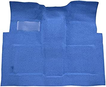 802-Blue Plush Cut Pile Automatic 4 Wheel Drive ACC Replacement Carpet Kit for 1981 to 1987 GMC Standard Cab Pickup Truck