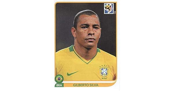 Panini World Cup 2010 Gilberto Silva Brasil No 496