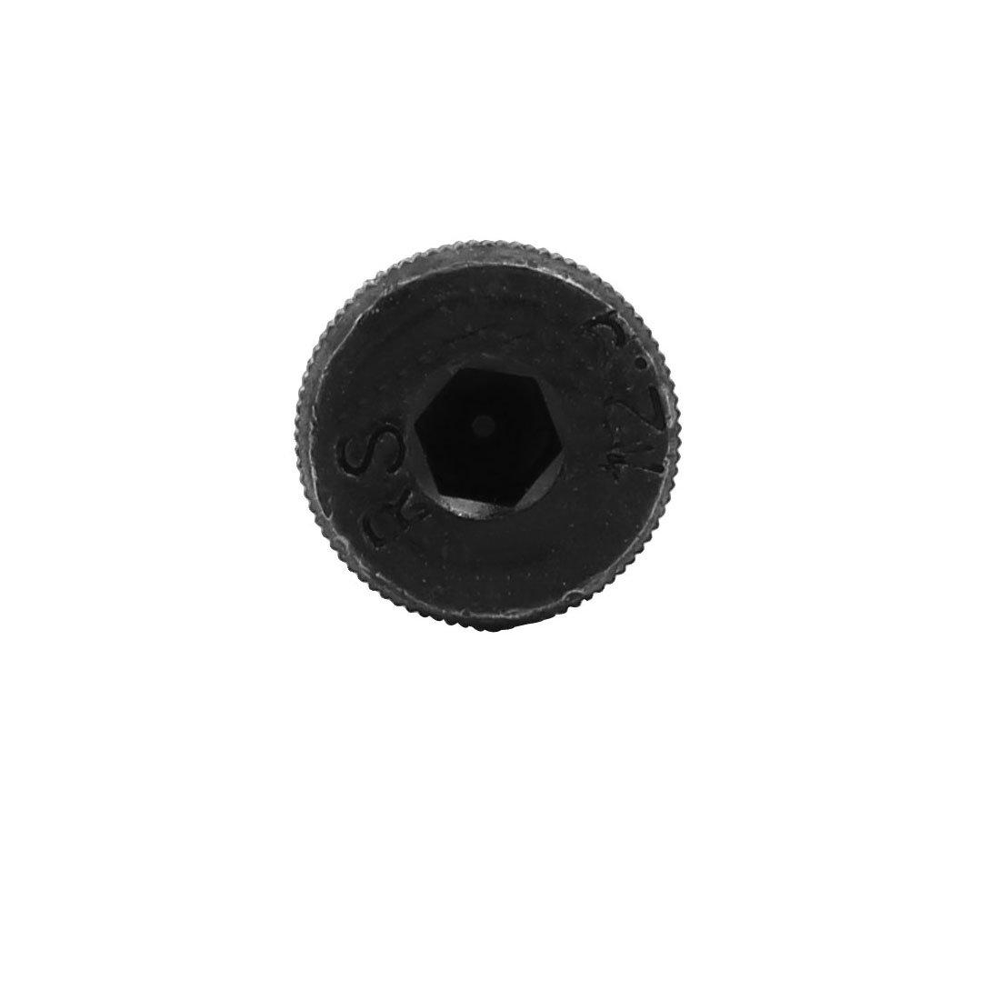 sourcing map 5pcs 40Cr Boulon D/épaule 10mm /Ø 80mm long /épaule M8x13mm