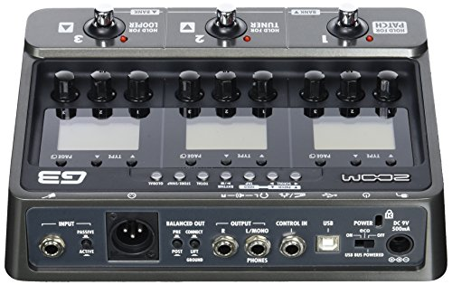 zoom g3x guitar effects and amp simulator buy online in uae musical instruments products in. Black Bedroom Furniture Sets. Home Design Ideas