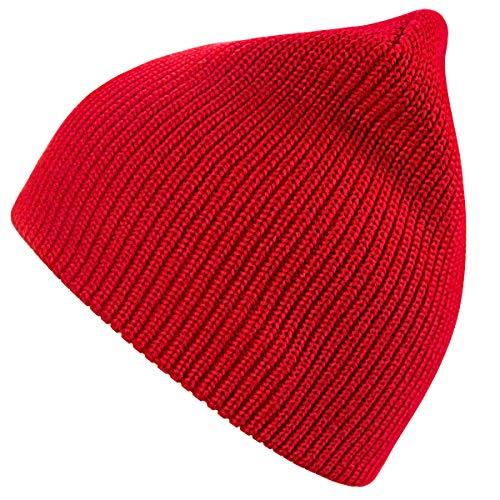 nine bull Winter Beanie Hat Warm Knit Hats Acrylic Knit Cuff Beanie Cap for Women & ()