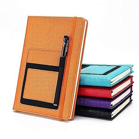 Cuaderno de Cuero A5 Bloc de Notas Diario de la Biblia de ...