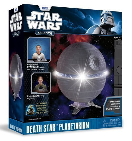 Game / Play Uncle Milton Star Wars Science Death Star Planetarium. Informative, Learning, Light, Decorative Toy / Child / Kid (Home Theater Planetarium Star)