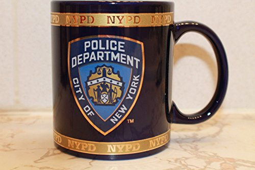 NYPD Coffee Mug Officially Licensed by The New York Police (Department Mug)