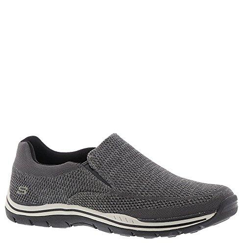 Skechers Men's, Expected Gomel Slip on Shoes Wide Width Gray 10 W ()