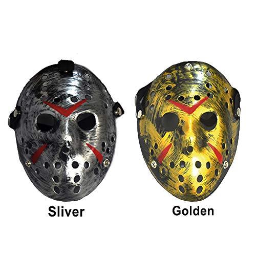 Hockey Girl Halloween Costumes - Invoker 2pcs/Set Halloween Masquerade Mask, Unbranded