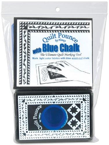 Brand New Quilt Pounce Pad W/Chalk Powder-4oz Blue Brand New