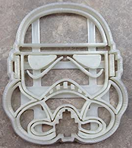 New Design Star Wars Storm Trooper Cookie Cutter - 3D Printed Plastic(Small)