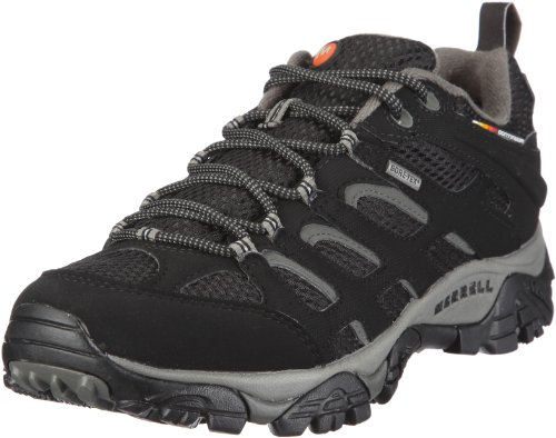 Merrell Mens Moab Gore-Tex Waterproof Hiking Shoe Black