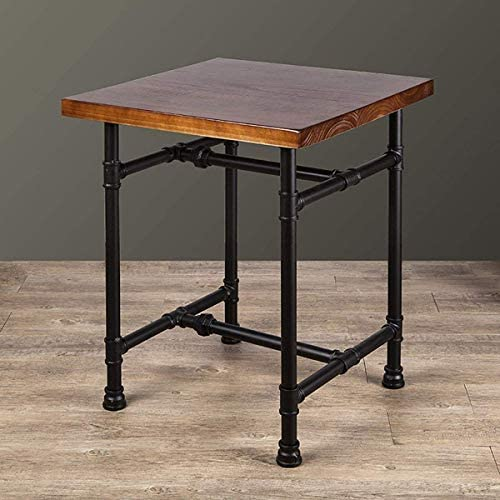 24 Inch Industrial Rustic Iron Pipe Entry Table