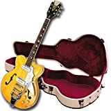 Kay Reissue K775VB Jazz II Electric Guitar with Bigsby Tremolo- Natural Blonde