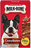 Milk-Bone GravyBones Dog Treats fpr Small Dogs, 19-Ounce (Pack of 6)
