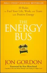 The Energy Bus, an international best seller by Jon Gordon, takes readers on an enlightening and inspiring ride that reveals 10 secrets for approaching life and work with the kind of positive, forward thinking that leads to true accomplishmen...