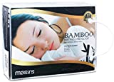 #3: Bamboo Mattress Protector - Waterproof, Breathable Fabric and Soft to the Touch, Vinyl Free. Seam with Elastic to Provide Comfortable Sleep and Great Fit for Your Mattress. (QUEEN)