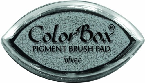 (CLEARSNAP ColorBox Metallic Pigment Cat's Eye Inkpad, Silver)