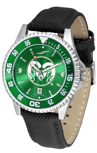 Colorado State Rams Competitor AnoChrome Men's Watch - Color Bezel by SunTime