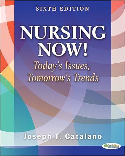 Descargar Elitetorrent Nursing Now!: Today's Issues, Tomorrows Trends Libro Patria PDF