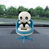 Solar Powered Dancing Toys Swinging Lovely Panda Bobble Dancer Toy Car Decor Gessppo For Sale