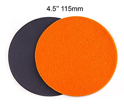 4.5 inch (115mm) GP20 Abrasive Disc for Glass or Plastic, ULTRA-FINE GRADE (pack of 10 discs)