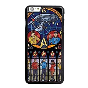 Wunatin Hard Case ,iPhone 6 6S 4.7 inch Cell Phone Case Black Star Trek Love [with Free Tempered Glass Screen Protector]5691265302173