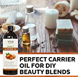 Almond Oil (16 oz); Sweet Almond Oil for Skin or