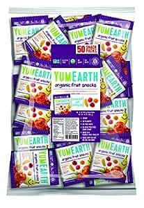 YummyEarth Organic Fruit Snacks. 50 Count (Packaging May Vary)