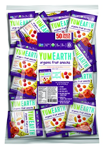 YumEarth Organic Fruit Snacks Packaging product image