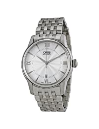 Oris Artelier Automatic Silver Dial Stainless Steel Mens Watch 733-7670-4071MB