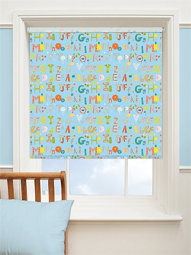 Childrens Blinds, Bright and Funky Blackout Blinds for ...