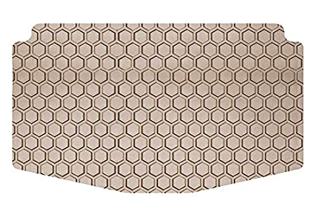 Rubber-Like Compound Clear Small Intro-Tech FO-524-RT-C Hexomat Cargo Area Custom Fit Floor Mat for Select Ford C-Max Models