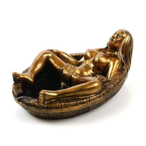 HPCZZ Creative Sexy Beauty Stone Ashtray Ornaments Table