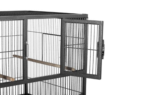 Prevue Pet Products F070 Hampton Deluxe Divided Breeder Cage with Stand