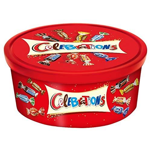 Celebration Chocolates (Celebrations Tubs 650G)