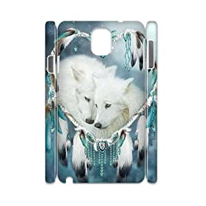 Diy Dream Catcher and Wolf Animal Phone Case for samsung galaxy note 3 3D Shell Phone JFLIFE(TM) [Pattern-1]