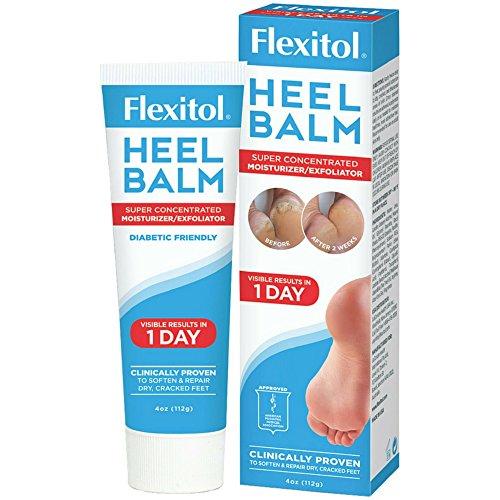 Flexitol Foot - Flexitol Heel Balm 4 oz (Pack of 4)