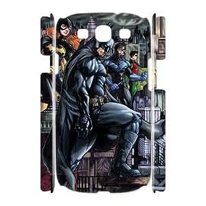 VNCASE Bat Man Phone 3D Case For Samsung Galaxy S3 I9300 [Pattern-1]