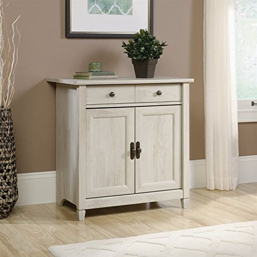 Sauder Door (Sauder Edge Water 2 Door Chest in Chalked Chestnut)