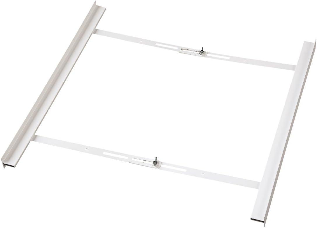 Hama 00111379 Houseware Frame Accesorio y Suministro para el hogar - Accesorio de hogar (Lavadora, Houseware Frame, Color Blanco, Metal, De plástico, Universal)