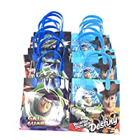 Disney Toy Story Premium Quality Party Favor Goodie Small Gift Bags 12 Pcs