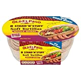 Old El Paso Stand N Stuff Wholewheat Soft Tortillas – 193g (0.43lbs) Reviews