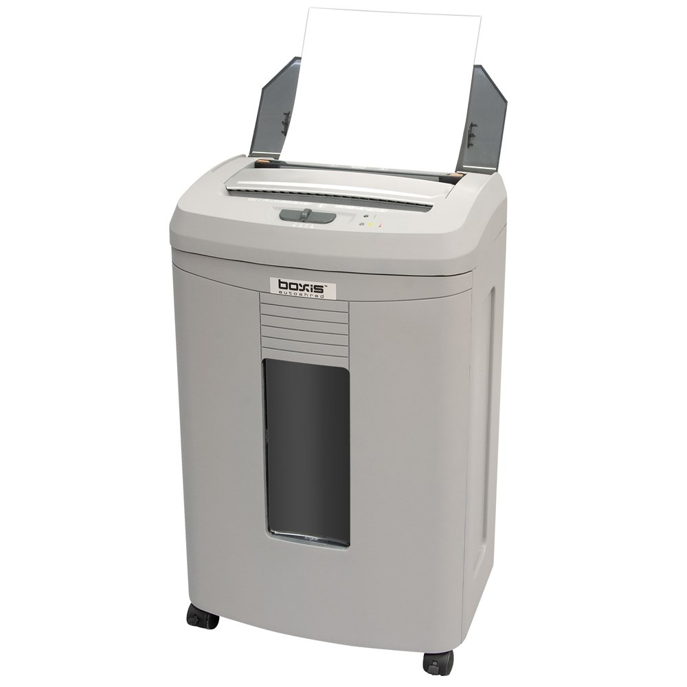 Boxis AF100 AutoShred 100-Sheet Micro Cut Paper Shredder by BOXIS