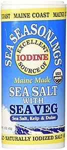 Maine Coast, Sea Vegetables Seasonings, Sea Salt With Sea Vegetables, 1.50-Ounce