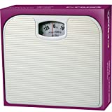 130KG BATHROOM SCALE WEIGHING BODY WEIGHT MECHANICAL HOME LOSE FAT DIAL WHITE