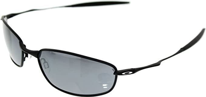 c2bf839089d Image Unavailable. Image not available for. Colour  Oakley Men s Whisker 05- 715 Black Rectangle Sunglasses
