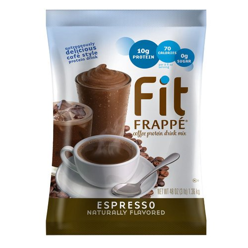 Cheap Fit Frappe Coffee Protein Drink Mix Espresso 3 lb. Bag