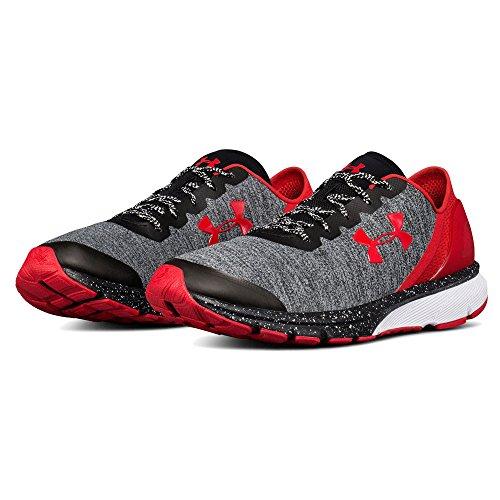 Under Armour UA Charged Escape, Chaussures de Running Compétition Homme, Noir Mehrfarbig (Grey 001)