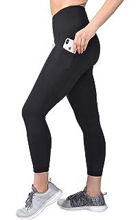 5497238968f9b 90 Degree By Reflex High Waist Squat Proof Yoga Capri Leggings with Side  Phone Pockets